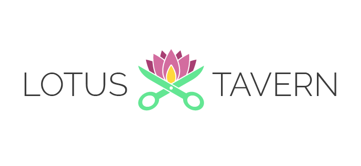 Lotus Tavern: DIY Website Logo